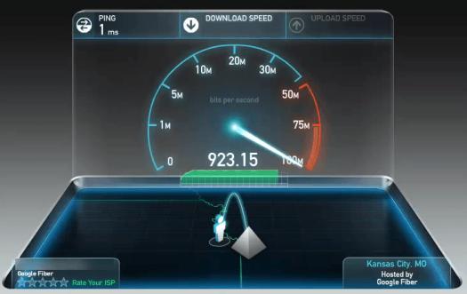 google-fiber-speed-test