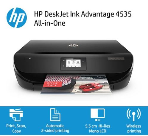Harga Printer HP AIO DeskJet Ink Advantage 4535